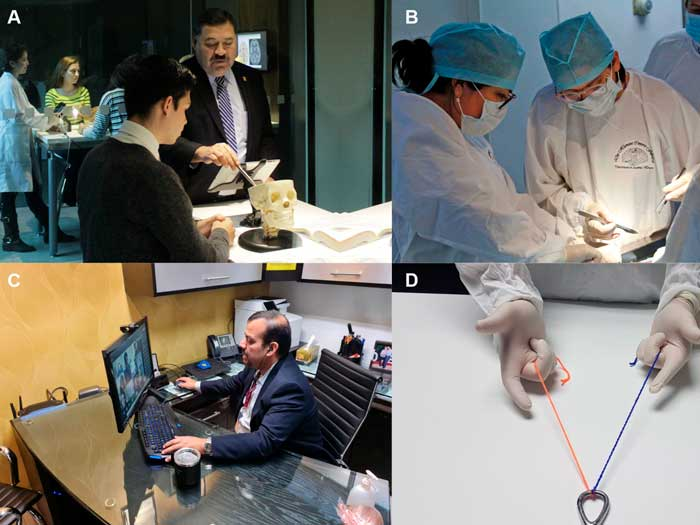 Ethics behind technology-enhanced medical education and the effects of the COVID-19 pandemic